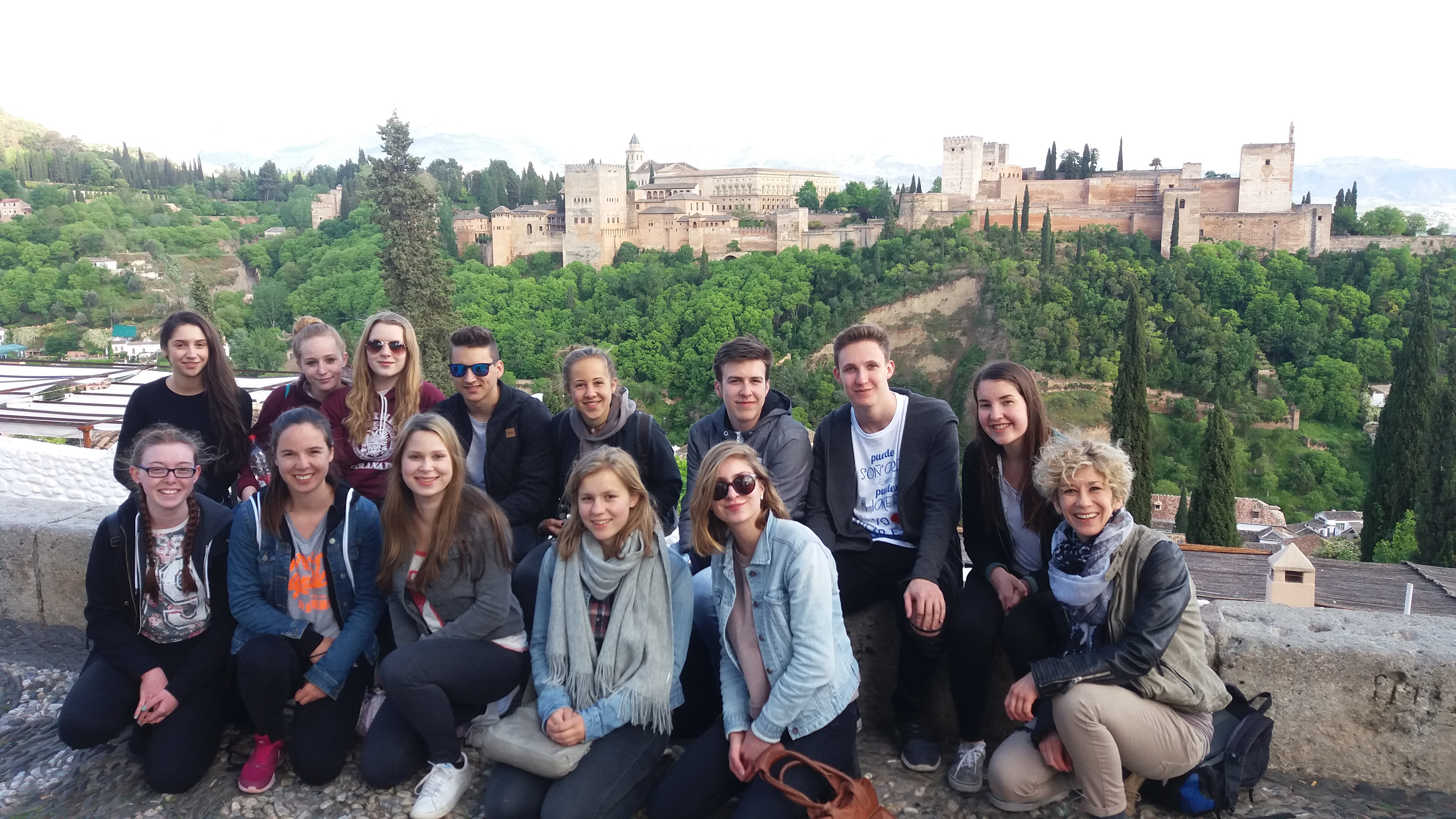 Visita a la Alhambra de Granada