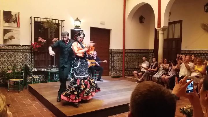 Espectáculo flamenco