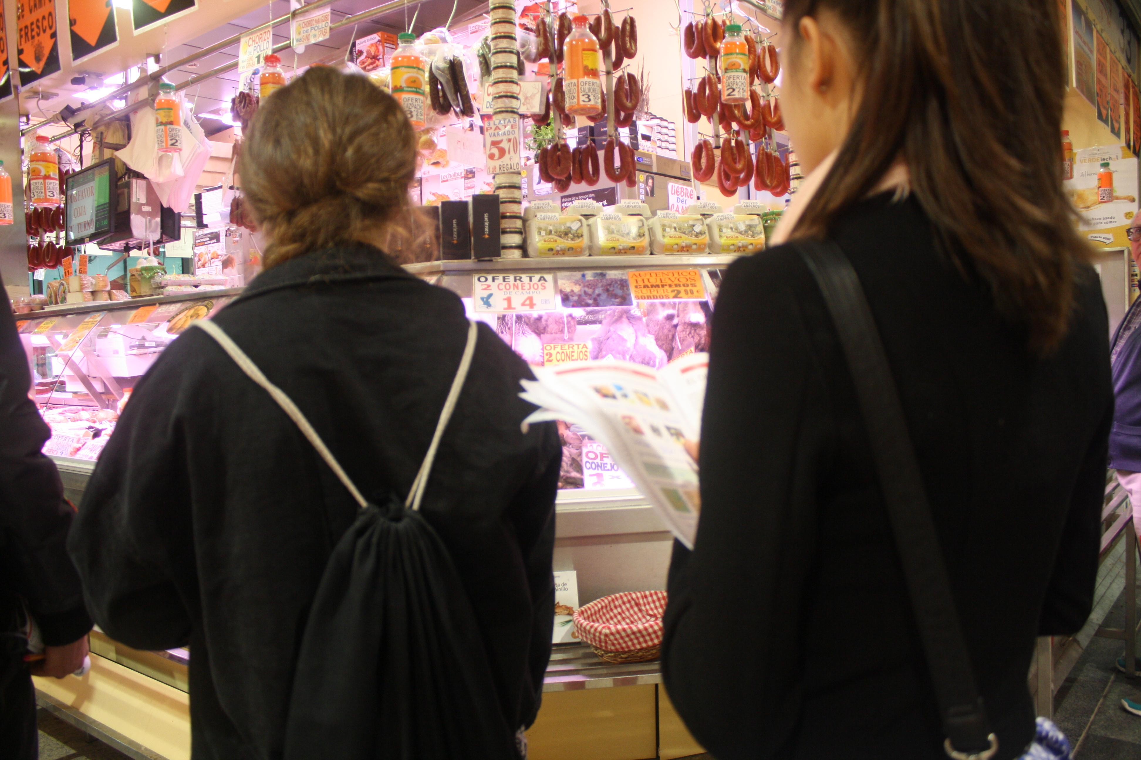 Visita al mercado